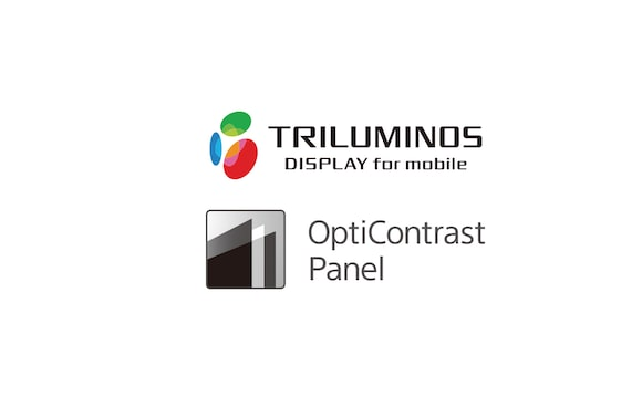 TRILUMINOS Display und OptiContrast Panel Logo