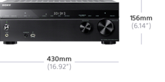 Bild von 7.2-Kanal-Home Entertainment-AV-Receiver | STR-DH770