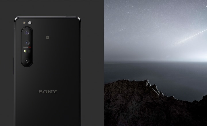 Xperia 1 II in Black