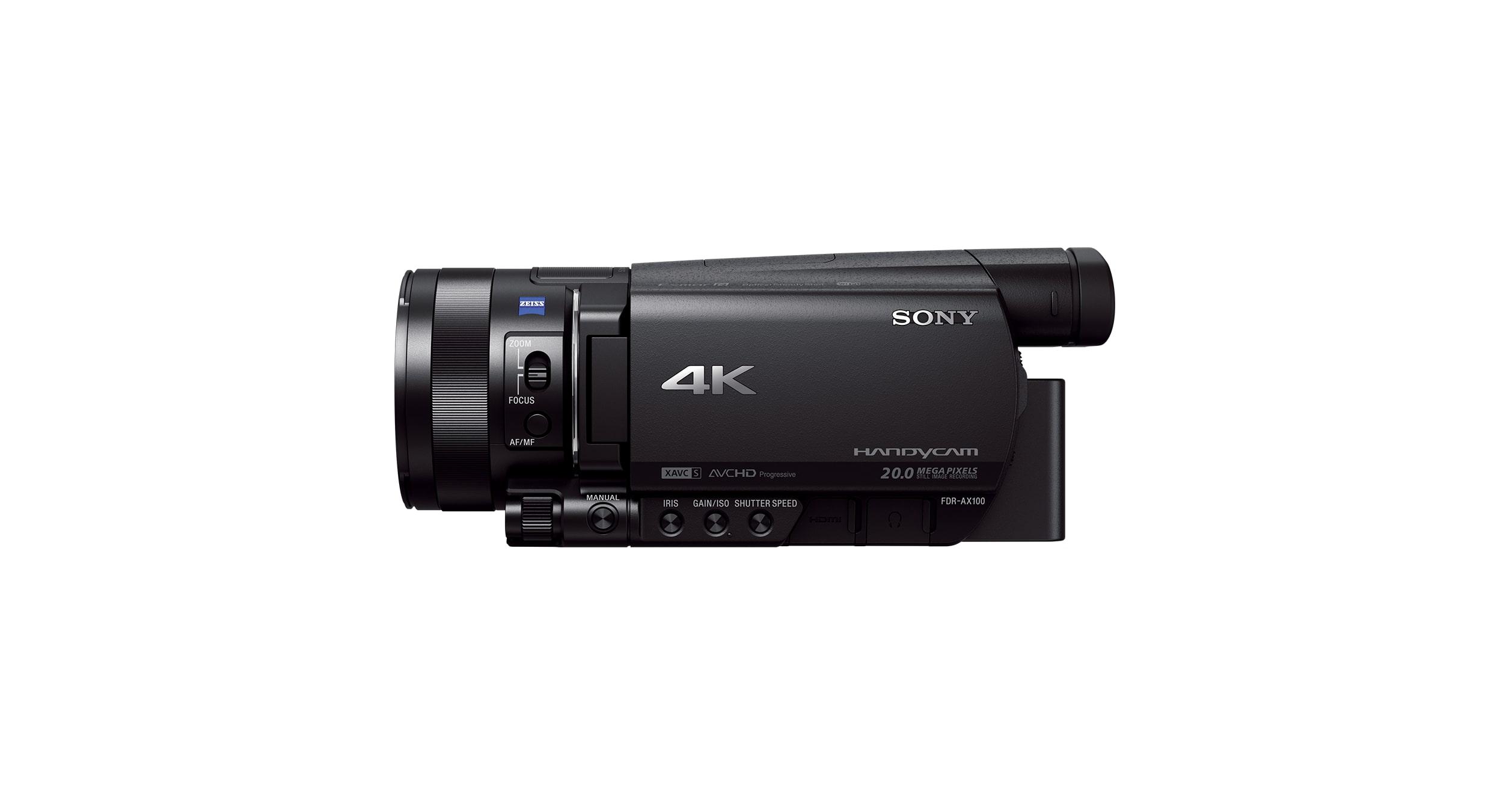 NP FV70 LCD LADEGERÄT für Sony Handycam FDR AX100E 2x
