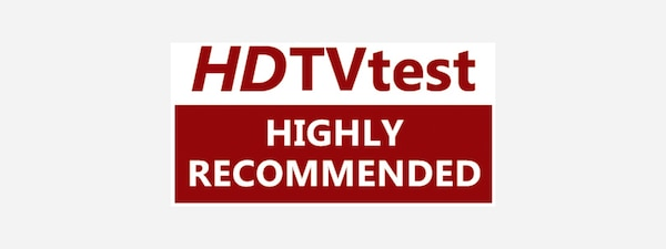 Prädikat Highly Recommended von HDTVtest