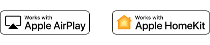Apple AirPlay und Apple HomeKit Logo