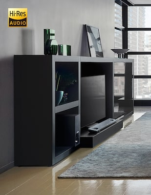 High Resolution Audio Soundbar