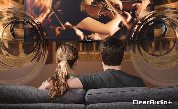 LED TV mit klarem Sound