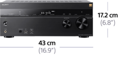 Bild von 7.2-Kanal-Home Entertainment-AV-Receiver | STR-DN1060